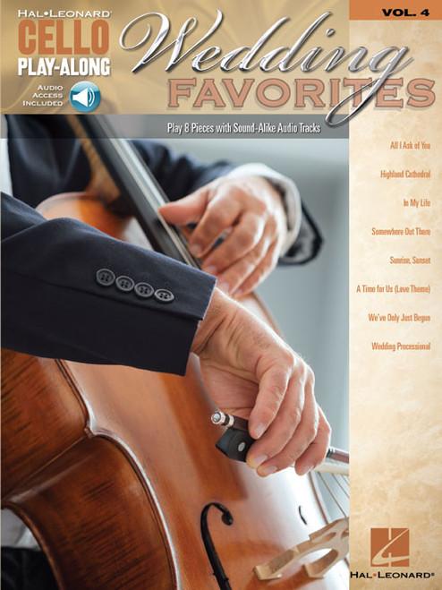 Hal Leonard Cello Play-Along Series Volume 4: Wedding Favorites (with Audio Access)