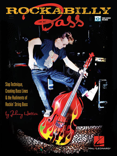 Rockabilly Bass (with Video Access) by Johnny Hatton