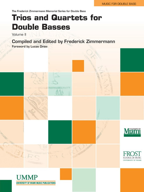 Trios and Quartets for Double Basses Volume 2 by Frederick Zimmerman