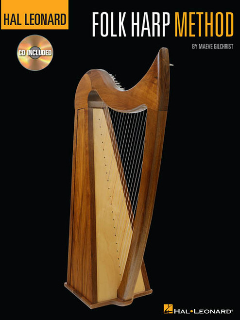 Folk Harp Method (Book/CD Set) by Maeve Gilchrist