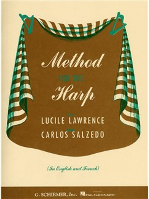 Method for the Harp by Lucile Lawrence & Carlos Salzedo