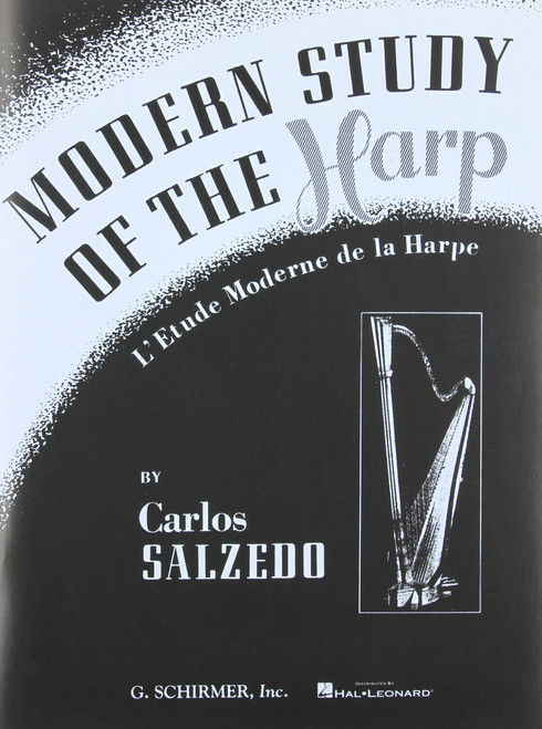 Modern Study of the Harp by Carlos Salzedo