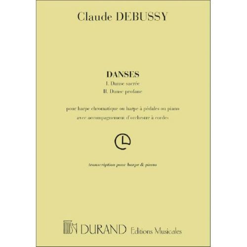 Debussy - Danses for Harp and Piano