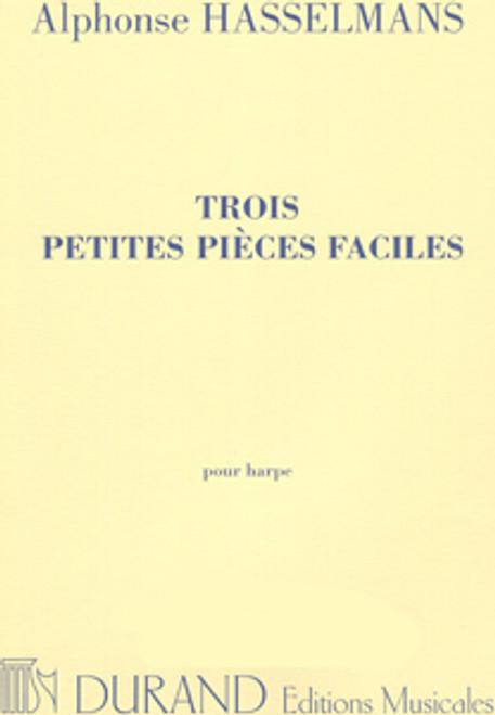 Hasselmans - Trois Petites Pièces Faciles (3 Easy Little PIeces) for Harp