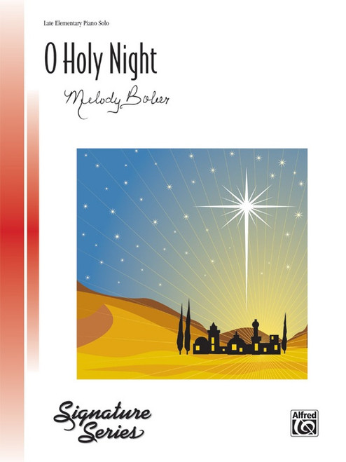O Holy Night - Late Elementary Piano Solo