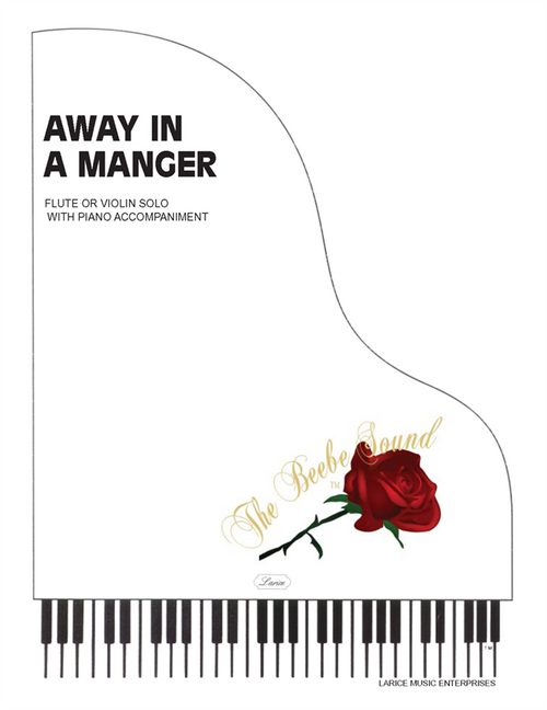 Away In a Manger Flute or Violin Solo with Piano Accompaniment