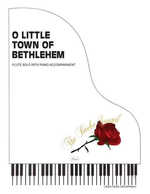 O Little Town of Bethlehem - Flute Solo with Piano Accompaniment