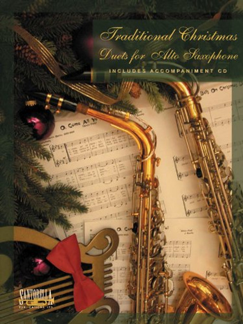 Traditional Christmas Duets for Alto Saxophone (Book/CD Set)
