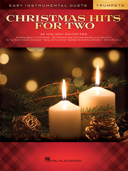 Christmas Hits for Two: Easy Instrumental Duets for Trumpets
