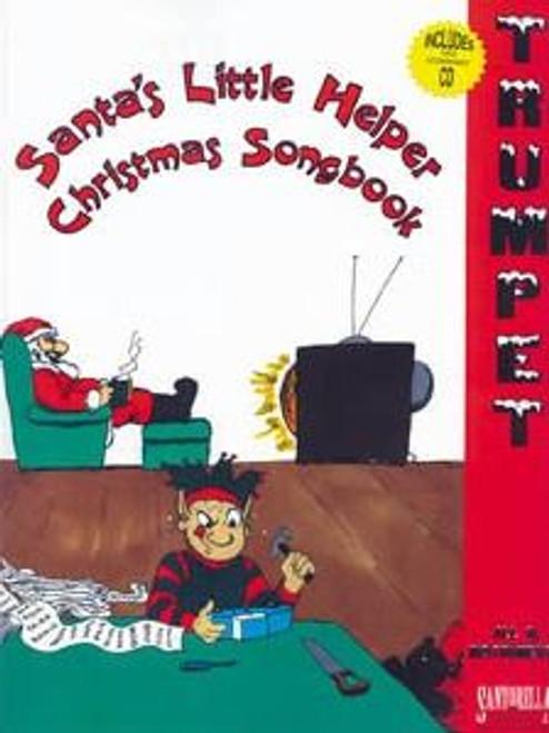 Santa's Little Helper Christmas Songbook for Trumpet (Book/CD Set)