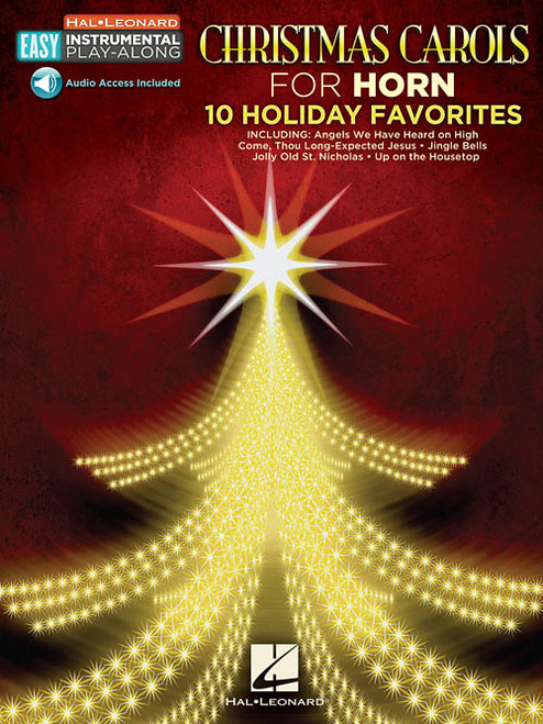 Hal Leonard Easy Instrumental Play-Along: Christmas Carols for Horn (with Audio Access)