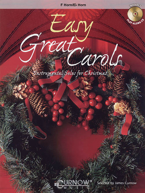 Easy Great Carols for French Horn (Book/CD Set)