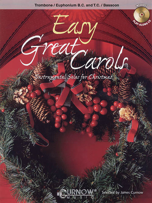 Easy Great Carols for Trombone (Book/CD Set)