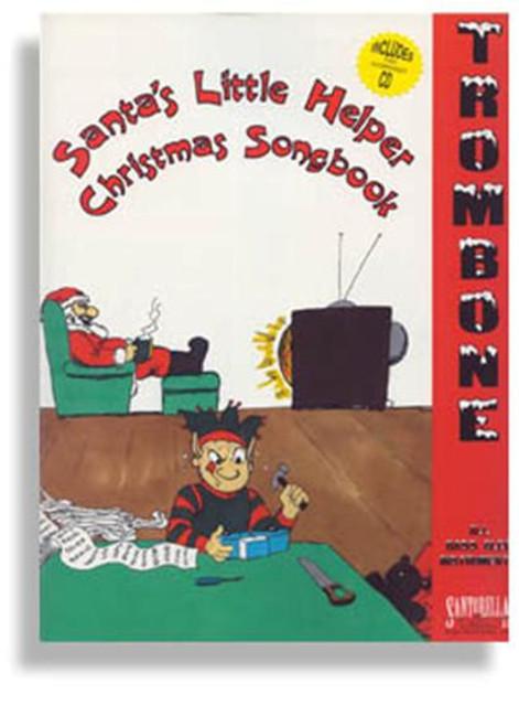 Santa's Little Helper Christmas Songbook for Trombone (Book/CD Set)