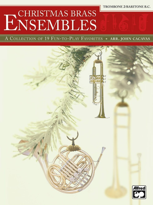 Christmas Brass Ensembles for Trombone 2/Baritone B.C.