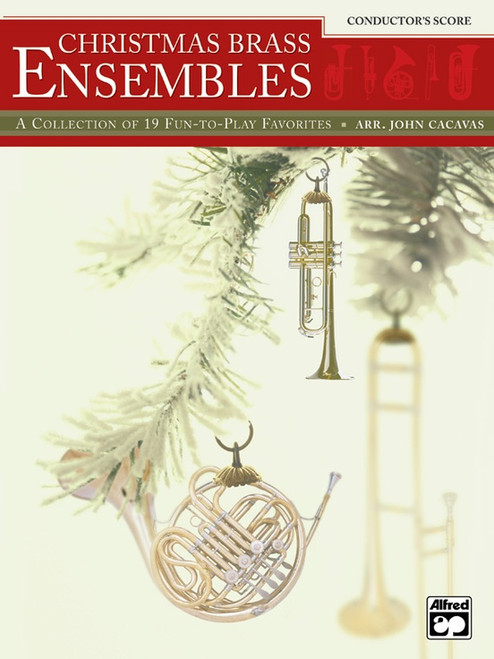 Christmas Brass Ensembles Conductor's Score