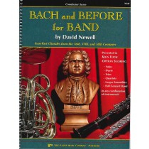 Bach and Before for Band -  Conductor Score