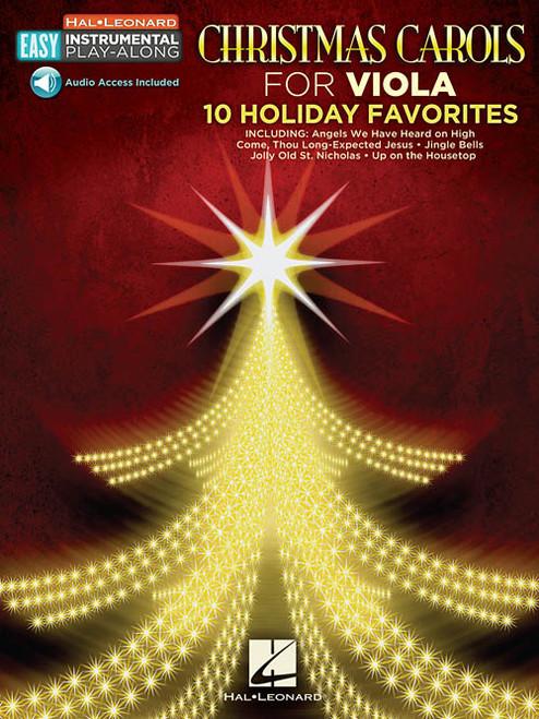Hal Leonard Easy Instrumental Play-Along: Christmas Carols for Viola (with Audio Access)