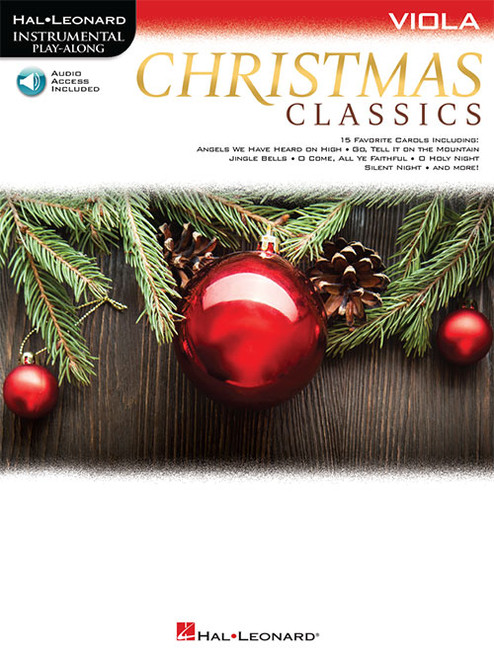 Hal Leonard Instrumental Play-Along for Viola - Christmas Classics (with Audio Access)