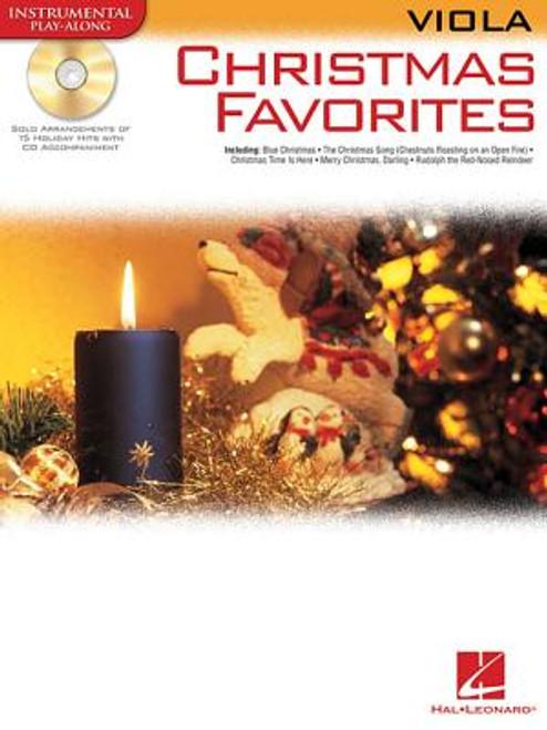 Hal Leonard Instrumental Play-Along for Viola - Christmas Favorites (Book/CD Set)