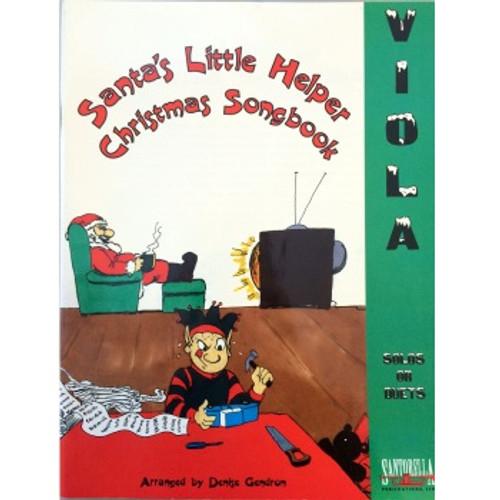 Santa's Little Helper Christmas Songbook for Viola (Book/CD Set)
