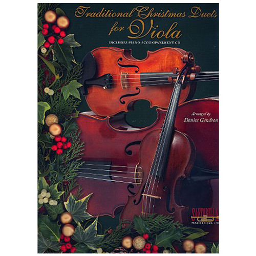 Traditional Christmas Duets for Viola (Book/CD Set)