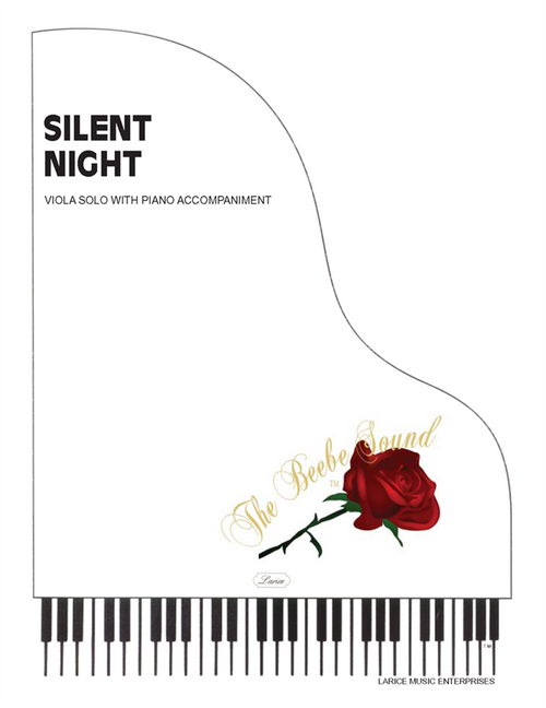 Silent Night for Viola Solo with Piano