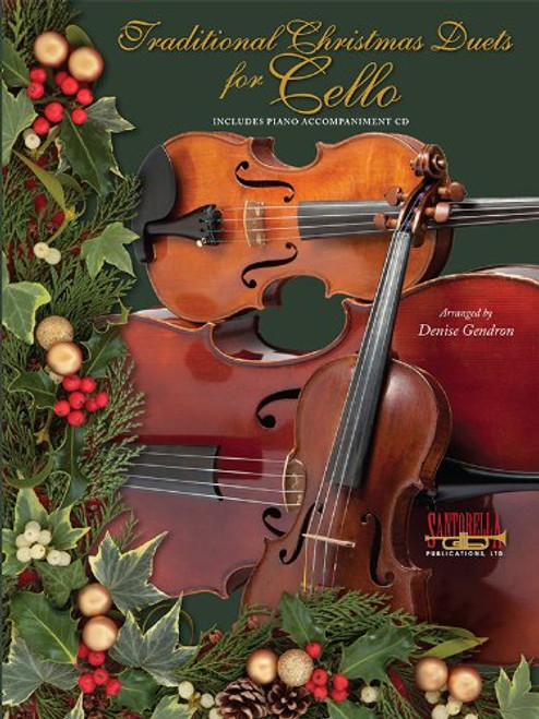 Traditional Christmas Duets for Cello (Book/CD Set)