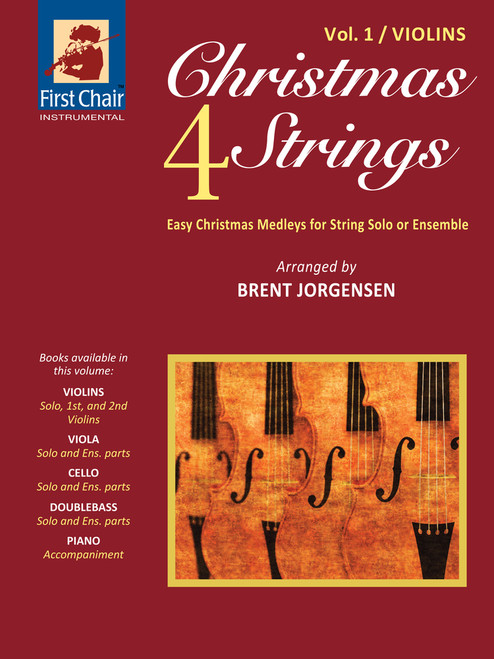 Christmas 4 Strings Volume 1 for Violins