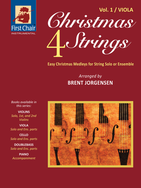 Christmas 4 Strings Volume 1 for Viola