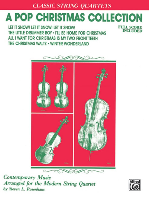 A Pop Christmas Collection for Classic String Quartets - Full Score