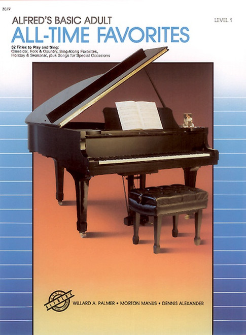 Alfred's Basic Adult Piano Course - All-Time Favorites - Level 1