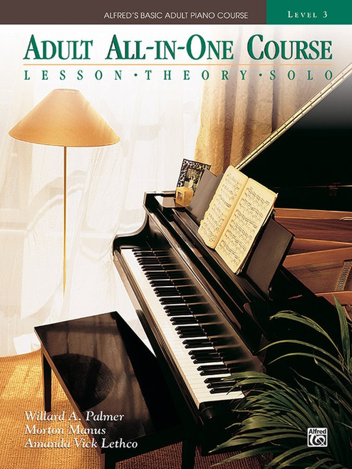 Alfred's Basic Adult Piano Course - All-in-One Course - Level 3