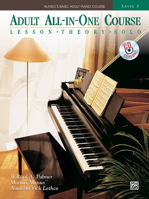 Alfred's Basic Adult Piano Course - All-in-One Course - Level 3 (Book/CD Set)