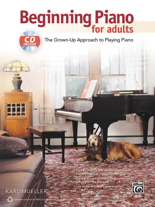 Beginning Piano for Adults (Book/CD Set)