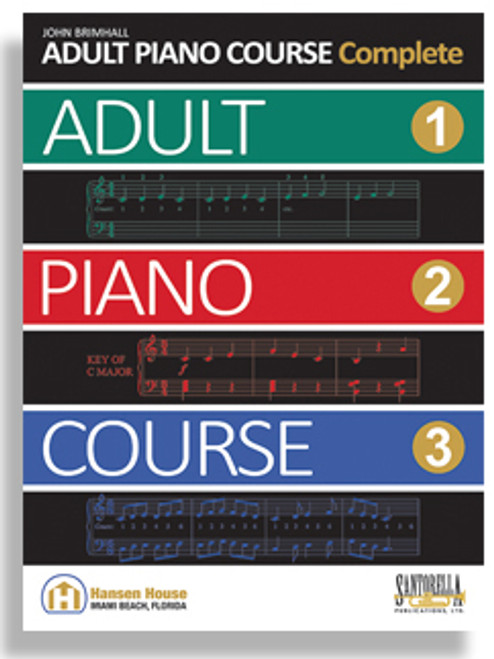 John Brimhall Adult Piano Course - Complete 1 (Book/CD Set)