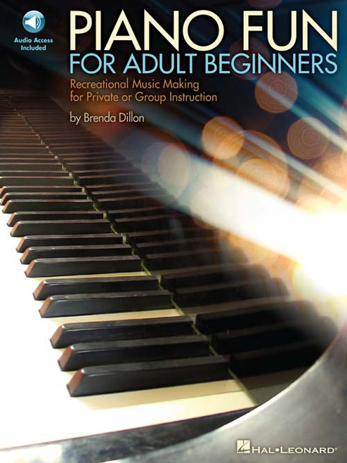 Piano Fun for Adult Beginners (Book/CD Set)