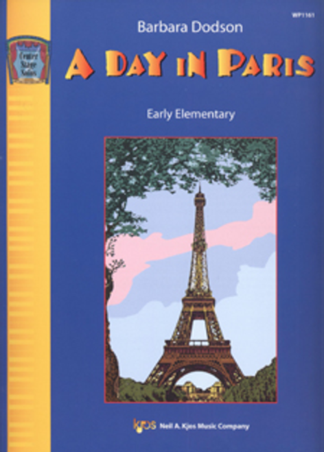 A Day in Paris by Barbara Dodson for 5-Finger Piano