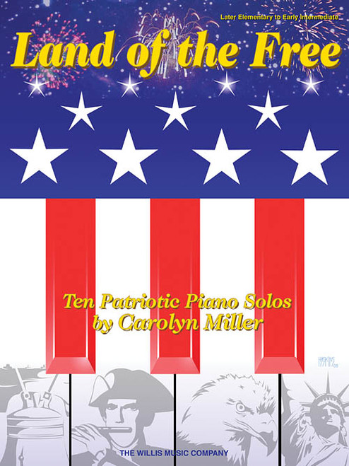 Land of the Free for Late Elementary to Early Intermediate Piano