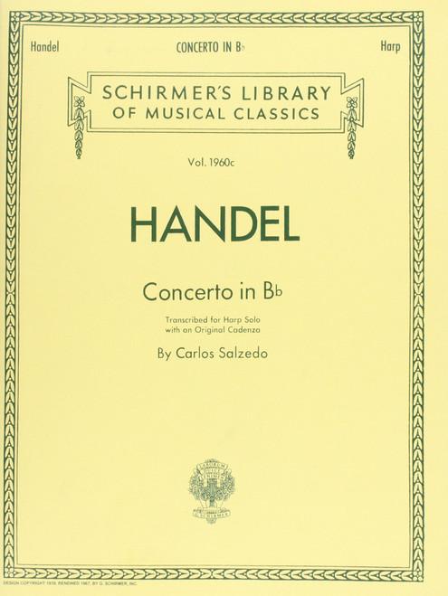 Handel - Concerto in B Flat for Harp Solo by Carlos Salzedo