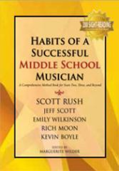 Habits of a Successful Middle School Musician - Percussion(G-9157