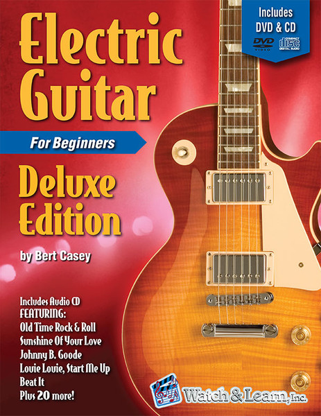 Electric Guitar for Beginners - Deluxe Edition (Book/CD/DVD Set)