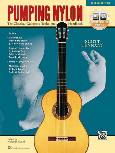 Pumping Nylon (2nd Edtion) The Classical Guitarist's Technique Handbook w/Online Access