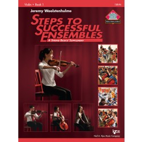 Steps to Successful Ensembles (A String Basic Supplement) - Violin - Book 1