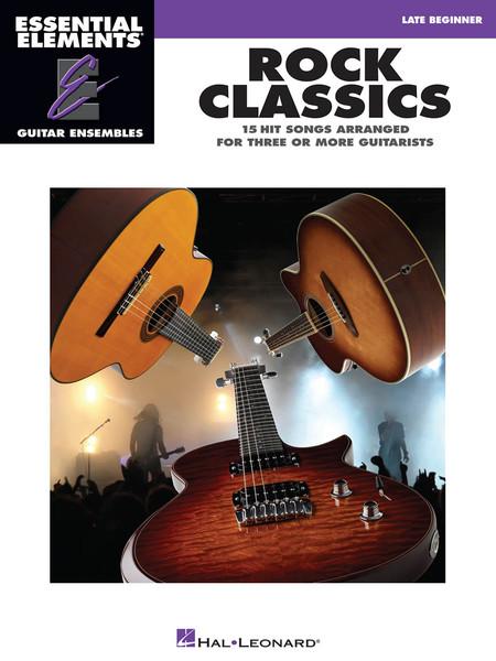Rock Classics (Late Beginner) - Essential Element Guitar Ensembles