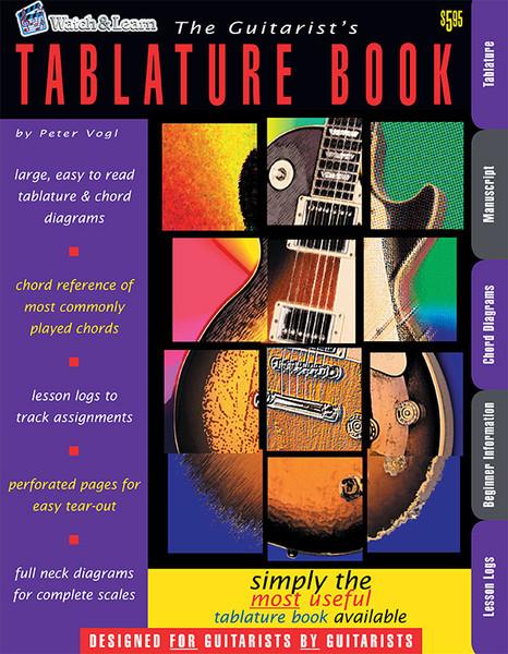 The Guitarist's Tablature Book (Watch & Learn)