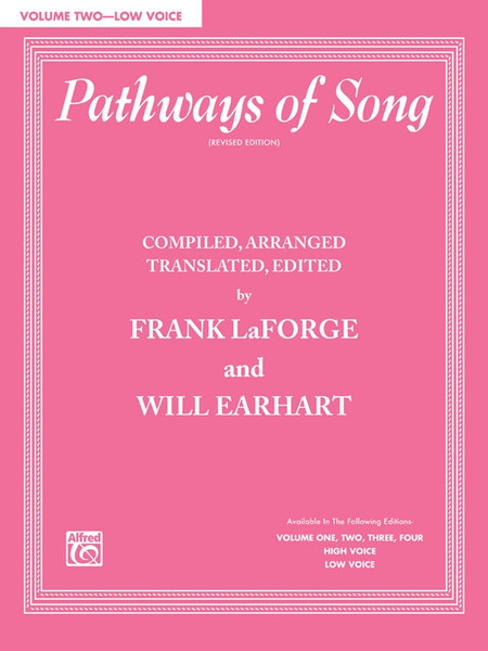 Pathways of Song (Revised Edition) Volume 2 - Low Voice (Book Only)