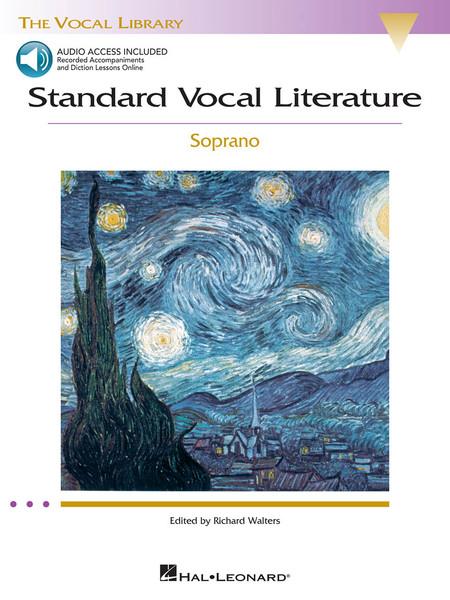 Standard Vocal Literature - Soprano - Book & Audio Access