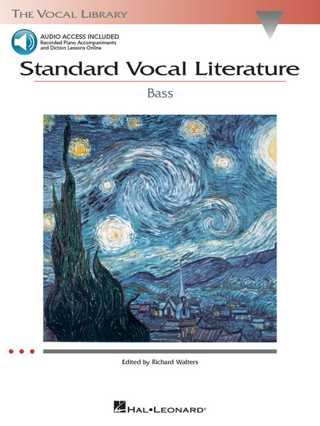 Standard Vocal Literature - Bass - Book & Audio Access
