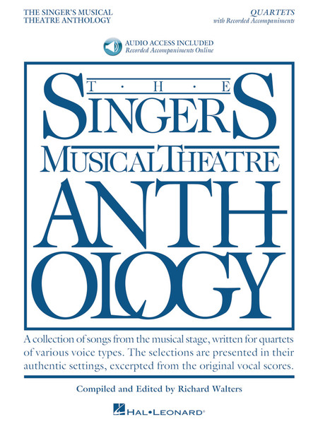 The Singer's Musical Theatre Anthology - Quartets - Book & Recorded Accompaniment Download